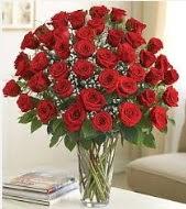 Cam vazoda 51 kırmızı gül süper indirimde Ankara Dikmen çiçek yolla
