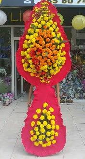 Çift katlı düğün nikah açılış çiçeği Ankara Dikmen Mürseluluç hediye çiçek yolla