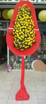 Ankara Dikmen İlker çiçek yolla , çiçek gönder , çiçekçi   Tek katlı düğün nikah çiçeği
