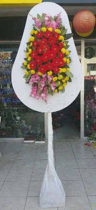 Tek katlı düğün nikah açılış çiçeği Ankara Dikmen öveçler çiçekçiler