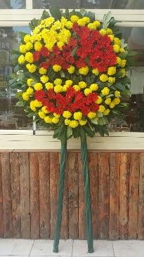 Cenaze çelengi çiçek modeli Ankara Dikmen Mürseluluç hediye çiçek yolla