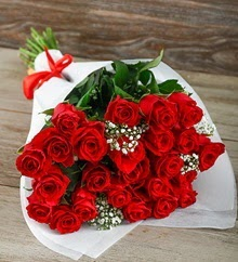 33 adet kırmızı gülün ihtişamı Dikmen İlkadım çiçek gönderme sitemiz güvenlidir