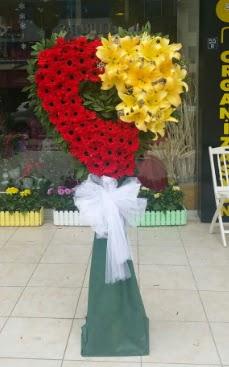 Yasin model ferförje kalp çiçek modeli Dikmen cicek , cicekci