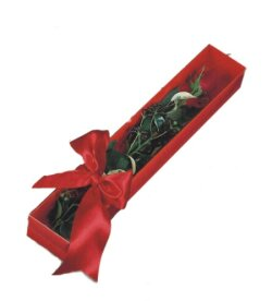 Dikmen Metin Akkuş çiçek satışı , çiçekçi , çiçekçilik  tek kutu gül sade ve sik
