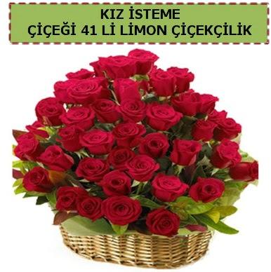 41 Adet gül kız isteme çiçeği modeli Dikmen Ankara çiçek gönder uluslararası çiçek gönderme