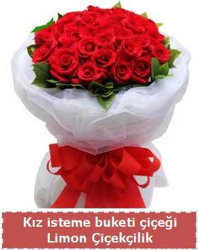Kız isteme çiçeği buketi 29 kırmızı gül Dikmen Ankara çiçek gönder uluslararası çiçek gönderme