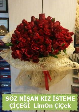 51 adet güllü Söz nişan kız isteme çiçeği Dikmen Akpınar Ankara  hediye sevgilime hediye çiçek