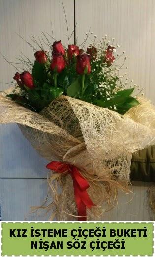 19 adet gülden kız isteme nişan çiçeği Ankara Dikmen kaliteli taze ve ucuz çiçekler