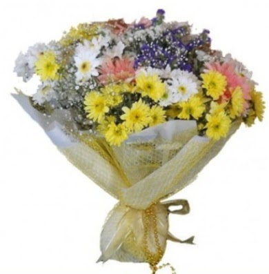 Karışık mevsim çiçeği Ankara Dikmen 14 şubat sevgililer günü çiçek