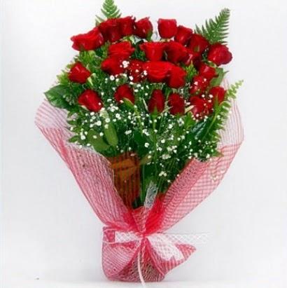 Kız isteme buketi çiçeği sade 29 adet gül Dikmen Ankara çiçek gönder uluslararası çiçek gönderme