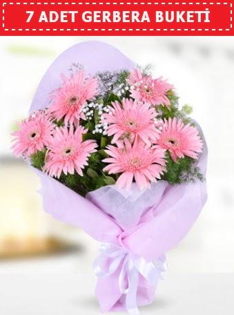 Pembe Gerbera Buketi Öveçler Dikmen anneler günü çiçek yolla
