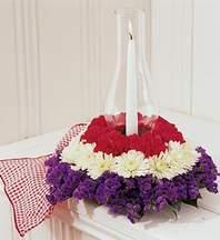 Dikmen İlker internetten çiçek siparişi  Krizantenlerden özel çiçek